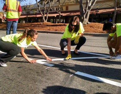 Street Plans leads Complete Streets Demonstration Project in Morgan Hill, California.