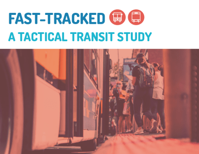 Fast Tracked: A Tactical Transit Study | TRB