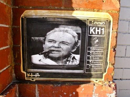 Archie Bunker Street Art