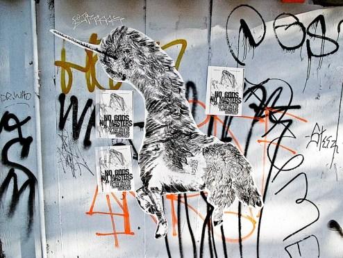 street art by sasquatch23 on haight st in san francisco