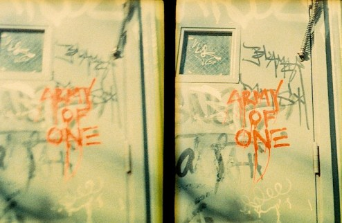 Army of One street art by jc2