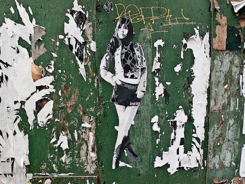 street art by ZHE155 in SoHo NYC