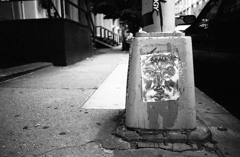 street art by beau in NYC