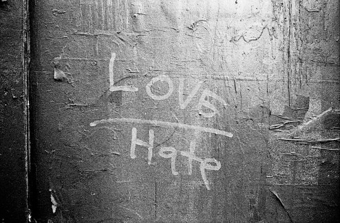 there's a fine line between love and hate street art in NYC
