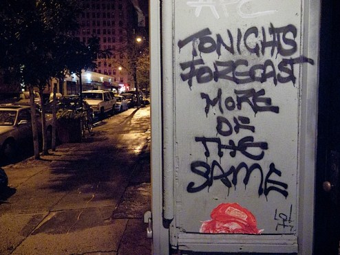tonight's forecast more of the same street art in NYCg10