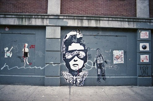 street art from reader, primo, asvp, army of one and mussolini