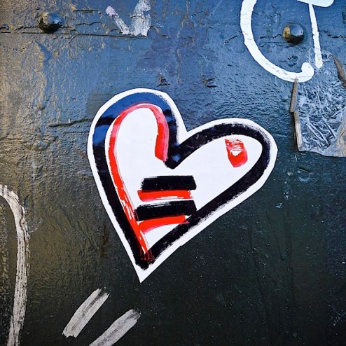 valentines day street art