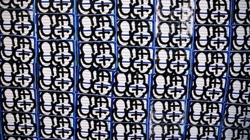 graffiti stickers in NYC
