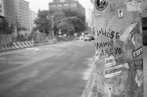 whose pawn are you graffiti in NYC