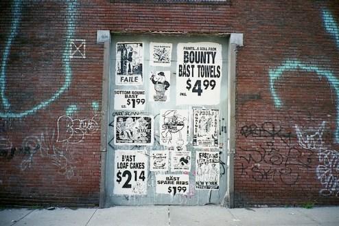 street art graffiti by bast in williamsburg, brooklyn, NYC