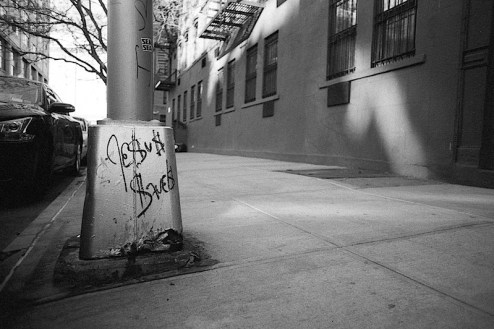 jesus saves graffiti photo shot in nyc