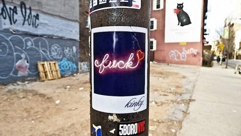 kinky fuck sticker