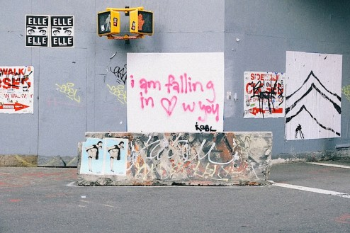 i am falling in love with you graffiti