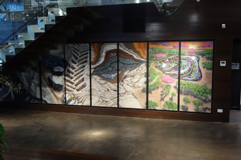 Civil Construction and Mining themed artwork by Sheeps