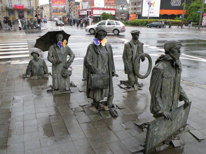 Anonymous pedestrians