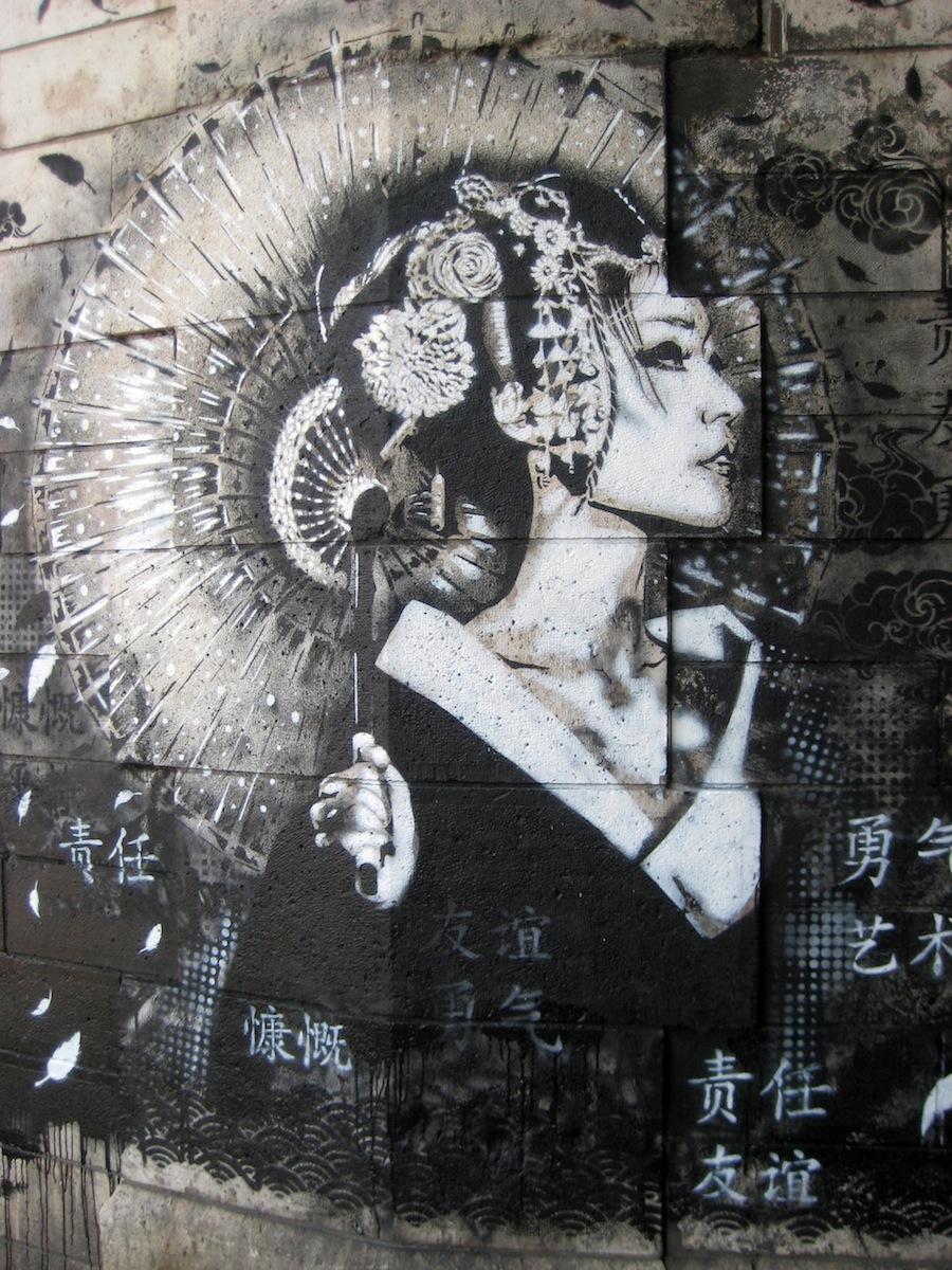 Street Art by Fin DAC