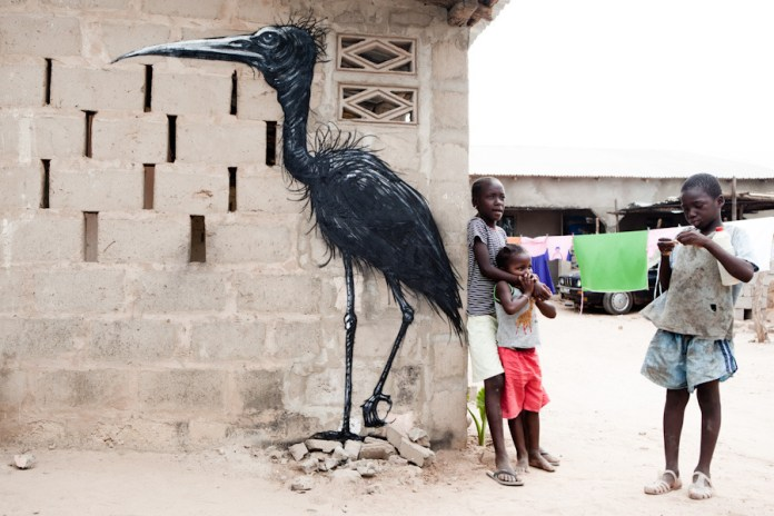ROA in Gambia for Wide Open Walls