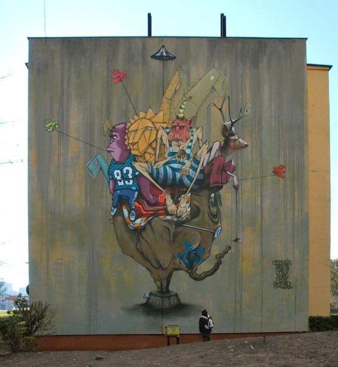 Street Art in Bydgoszcz, Poland