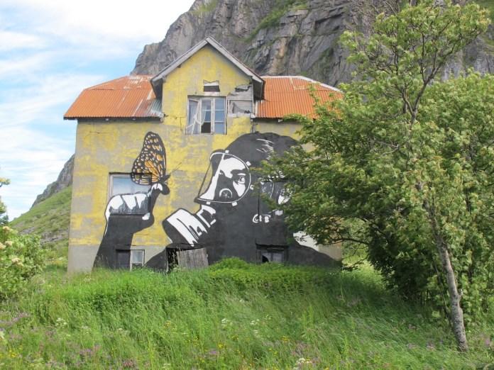 By Pøbel in Lofotenm Norway