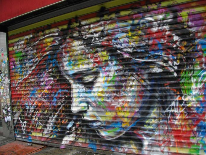 By David Walker in SOHO in New York