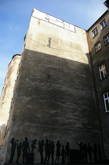 Walk the Line – In Katowice, Poland