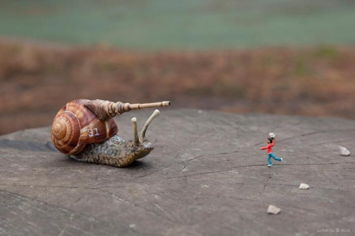 Little People. By Slinkachu in London, England 645