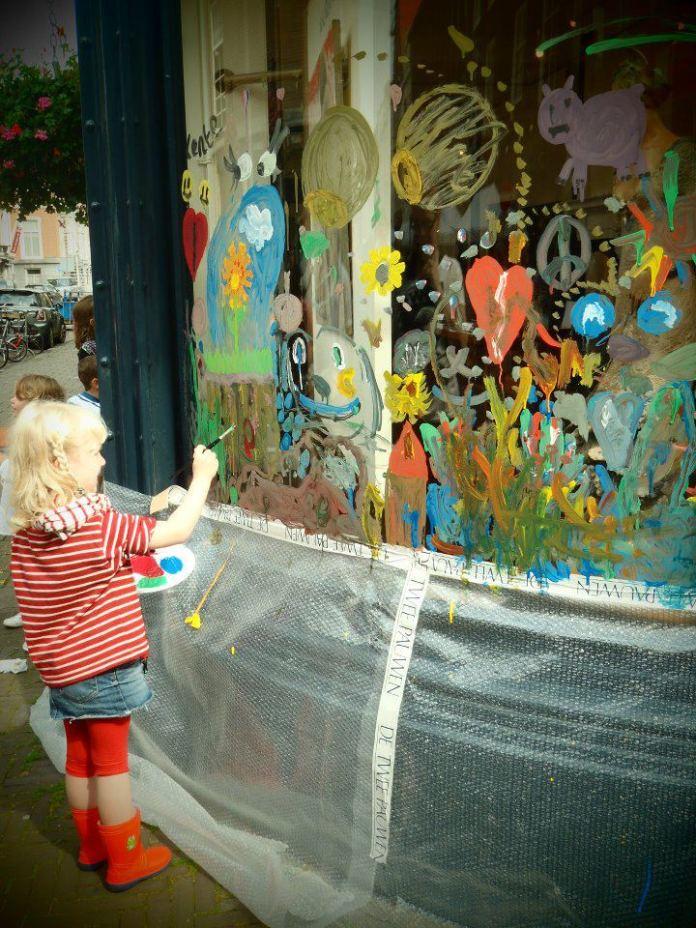 Street Art in Den Haag, Holland