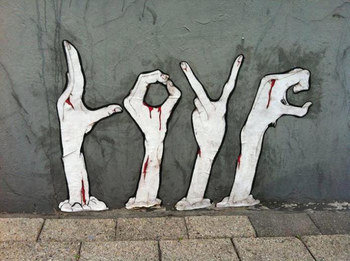 Street Art in Hamm, Germany