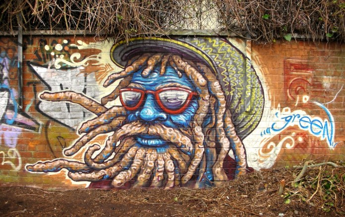 Graffiti by Uri Green – In Barceby Uri Green in Barcelona, Spain