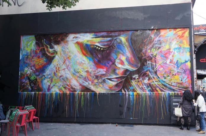 Street Art by David Walker – In Paris, France