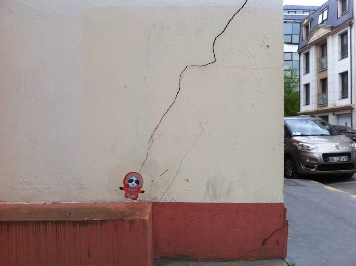Who killed Kenny. Street Art by memeIRL in France 1
