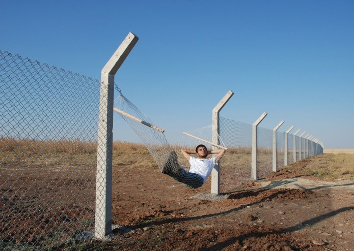 Border Hammock – By Murat Gok in Istanbul, Turkey