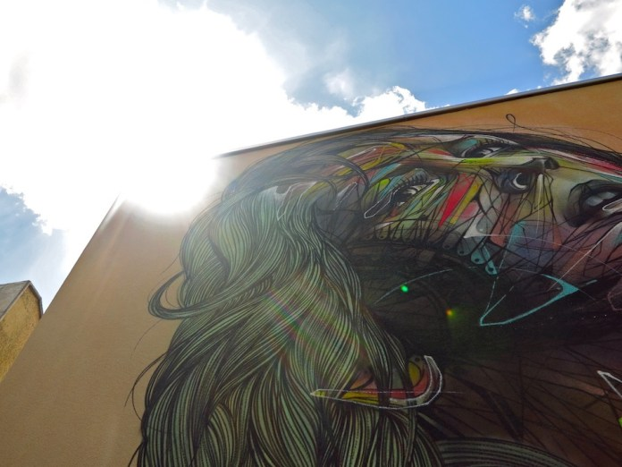 Street Art by Hopare in Orsay, France 5