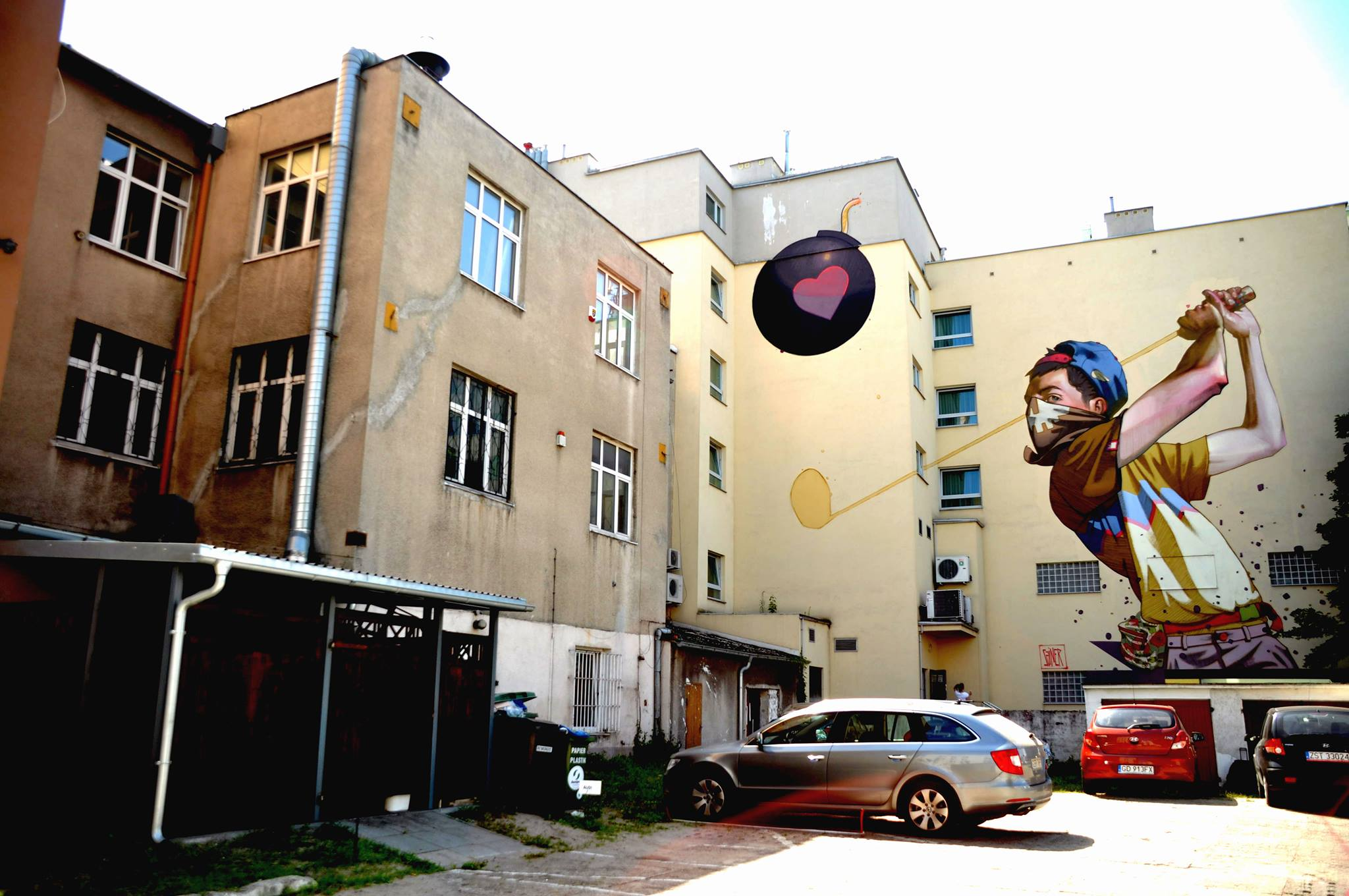 Street Art by SAINER in Gdynia, Poland
