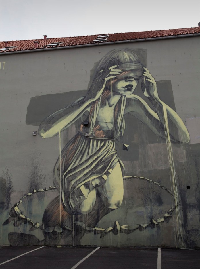 Street Art by faith47 at Nuart in Stavanger, Norway 2