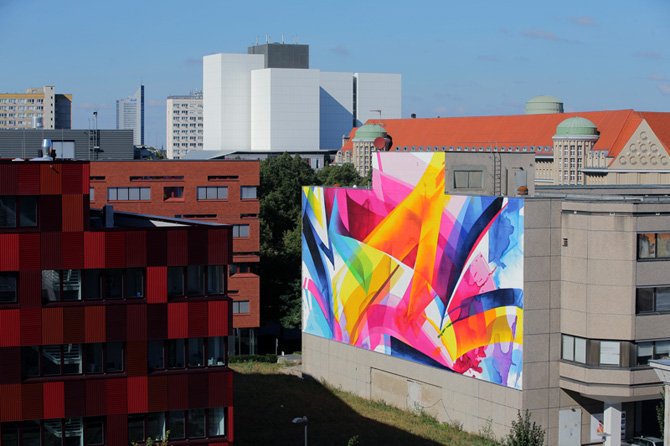 Graffiti by MadC in Leipzig, Germany at the Alte Messe 15