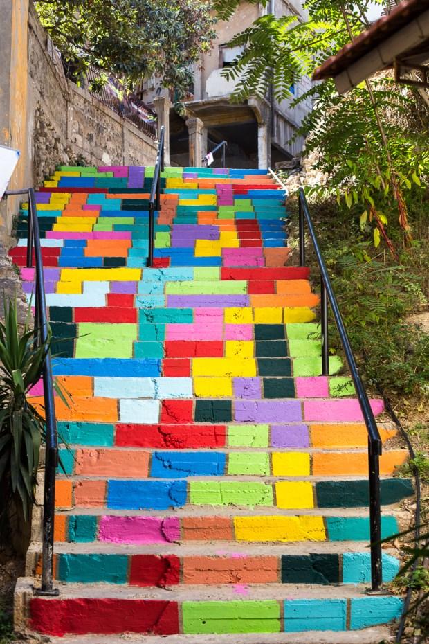 Tetris Stares. By Dihzahyners in Lebanon 1