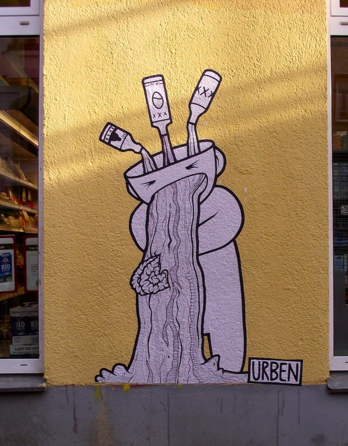 Street Art by Urben in Berlin, Germany