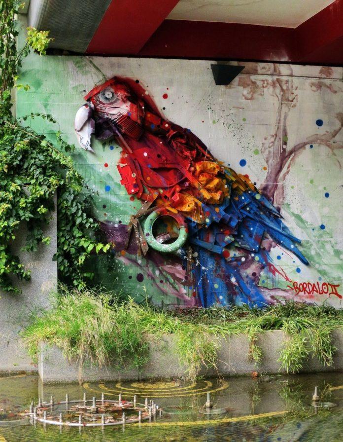 Street Art by Bordalo Segundo in Portugal 5685678