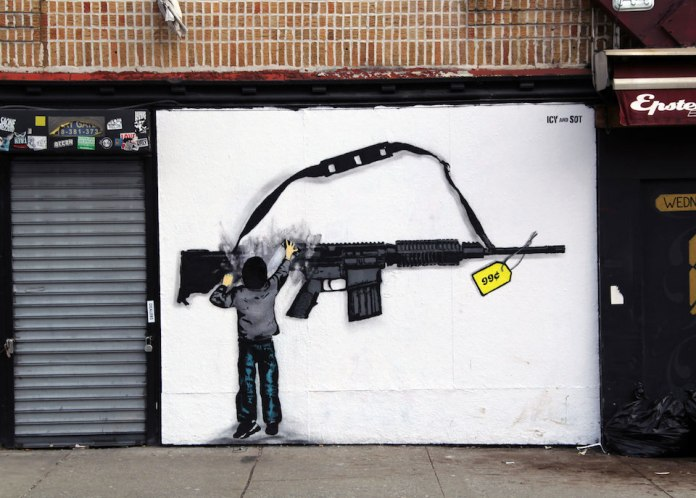 Street Art by Icy and Sot in Lower east side, New York, USA 5466