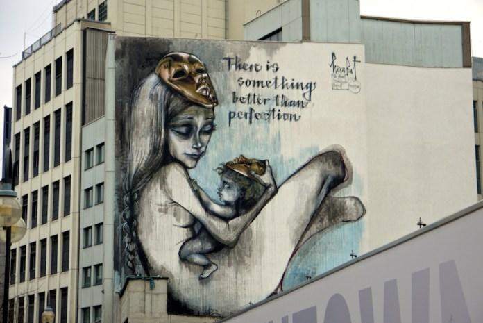 Street Art by Herakut – In Frankfurt, Germany