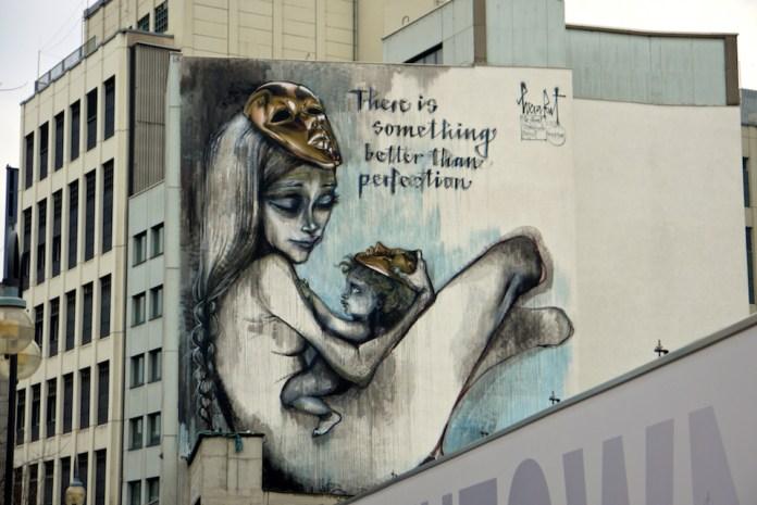 Street Art by Herakut in Frankfurt, Germany 5309