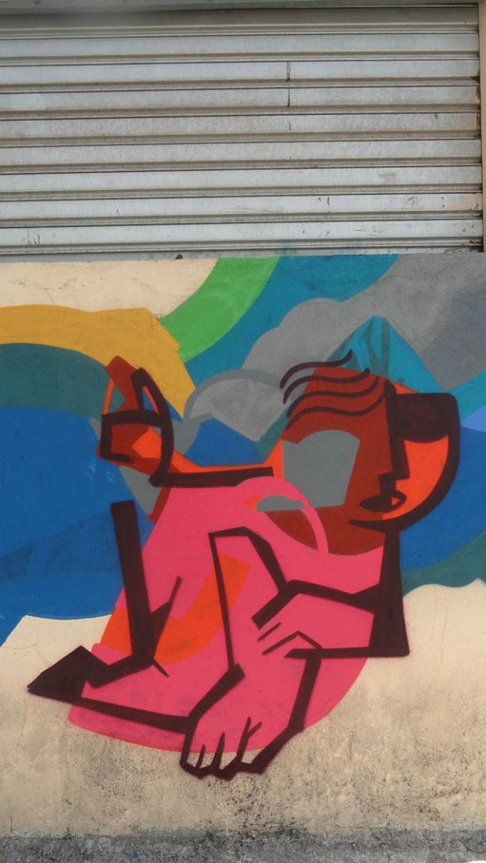 Street Art by SAO in São Paulo, Brazil 2