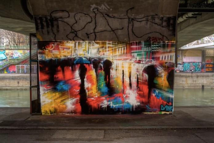 Street Art by Dank  in Vienna, Austria