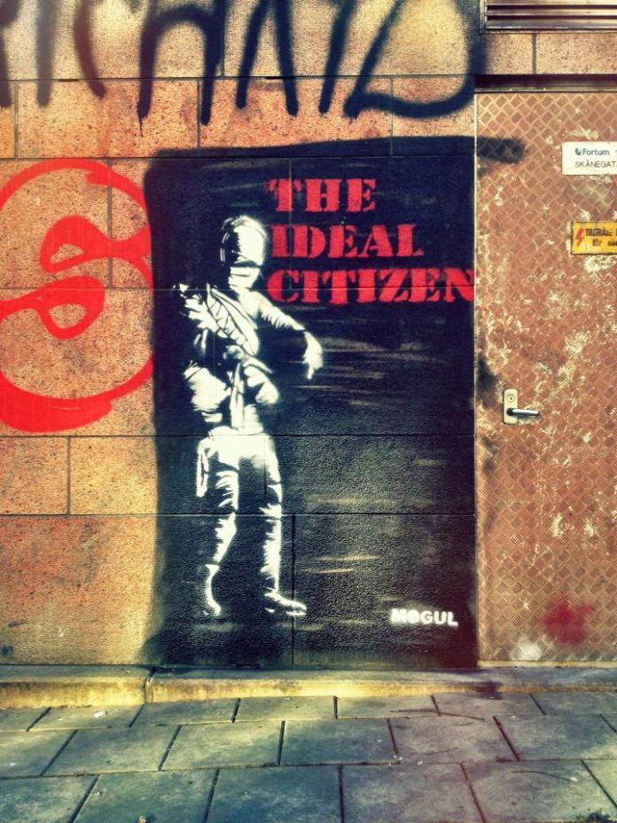 Street Art by Mogul – In Stockholm, Sweden