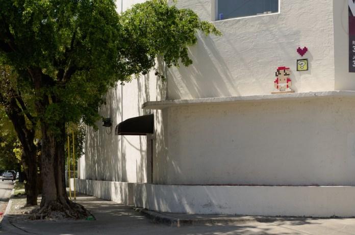 Super Mario Love Box - Street Art in Miami, Florida, USA