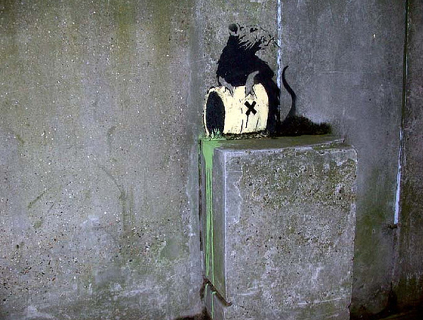 Street Art Collection - Banksy 40