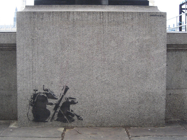 Street Art Collection - Banksy 56