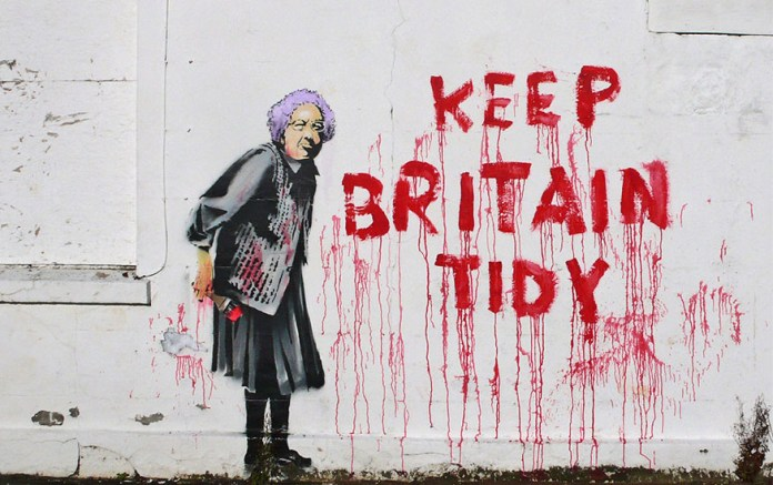 Street Art Collection - Banksy 99