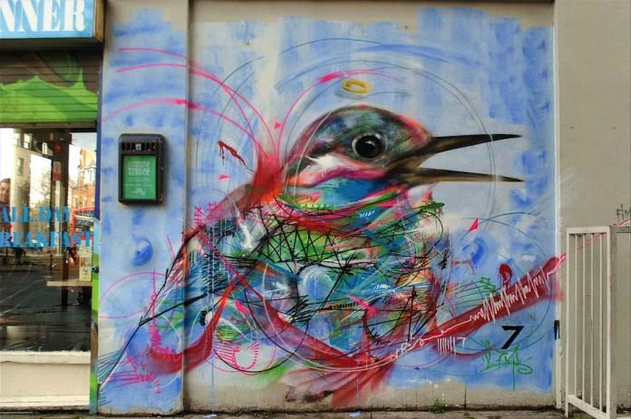 Street Art by L7m in London, England